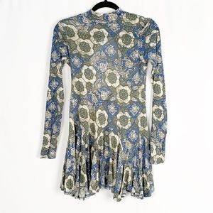 Free People | Annabelle Printed Tunic Sz M